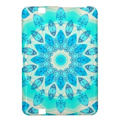Blue Ice Goddess, Abstract Crystals Of Love Kindle Fire Hd 8 9  Hardshell Case