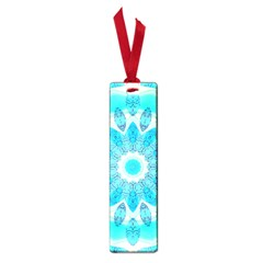 Blue Ice Goddess, Abstract Crystals Of Love Small Bookmark