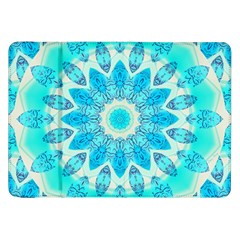 Blue Ice Goddess, Abstract Crystals Of Love Samsung Galaxy Tab 8.9  P7300 Flip Case