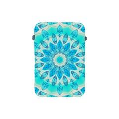 Blue Ice Goddess, Abstract Crystals Of Love Apple Ipad Mini Protective Sleeve