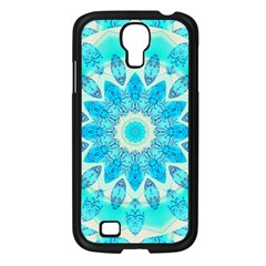 Blue Ice Goddess, Abstract Crystals Of Love Samsung Galaxy S4 I9500/ I9505 Case (black)