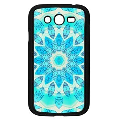Blue Ice Goddess, Abstract Crystals Of Love Samsung Galaxy Grand DUOS I9082 Case (Black)