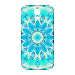 Blue Ice Goddess, Abstract Crystals Of Love Samsung Galaxy S4 I9500/i9505  Hardshell Back Case