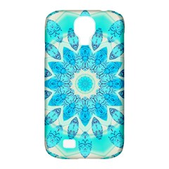 Blue Ice Goddess, Abstract Crystals Of Love Samsung Galaxy S4 Classic Hardshell Case (PC+Silicone)