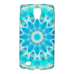 Blue Ice Goddess, Abstract Crystals Of Love Samsung Galaxy S4 Active (I9295) Hardshell Case
