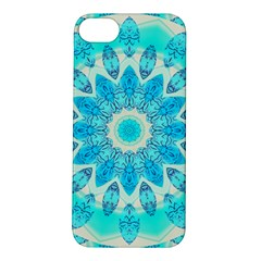 Blue Ice Goddess, Abstract Crystals Of Love Apple iPhone 5S Hardshell Case