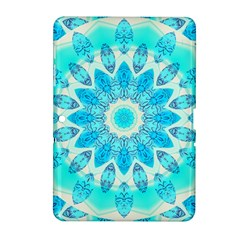 Blue Ice Goddess, Abstract Crystals Of Love Samsung Galaxy Tab 2 (10.1 ) P5100 Hardshell Case