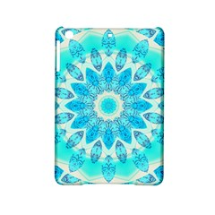 Blue Ice Goddess, Abstract Crystals Of Love Apple Ipad Mini 2 Hardshell Case