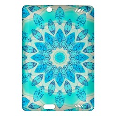Blue Ice Goddess, Abstract Crystals Of Love Kindle Fire Hd 7  (2nd Gen) Hardshell Case