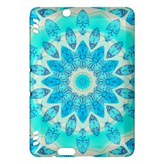 Blue Ice Goddess, Abstract Crystals Of Love Kindle Fire Hdx 7  Hardshell Case