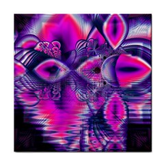 Rose Crystal Palace, Abstract Love Dream  Ceramic Tile