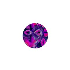 Rose Crystal Palace, Abstract Love Dream  1  Mini Button Magnet