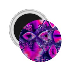 Rose Crystal Palace, Abstract Love Dream  2.25  Button Magnet