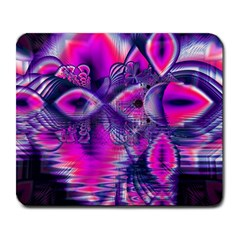 Rose Crystal Palace, Abstract Love Dream  Large Mouse Pad (Rectangle)