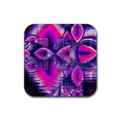 Rose Crystal Palace, Abstract Love Dream  Drink Coasters 4 Pack (Square)