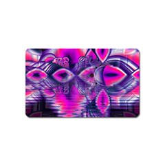 Rose Crystal Palace, Abstract Love Dream  Magnet (Name Card)