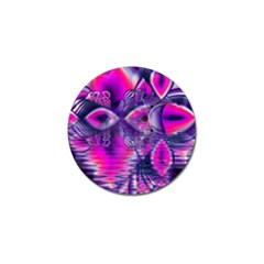 Rose Crystal Palace, Abstract Love Dream  Golf Ball Marker 4 Pack