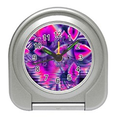 Rose Crystal Palace, Abstract Love Dream  Desk Alarm Clock