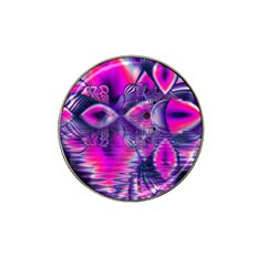 Rose Crystal Palace, Abstract Love Dream  Golf Ball Marker 4 Pack (for Hat Clip)