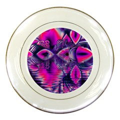 Rose Crystal Palace, Abstract Love Dream  Porcelain Display Plate