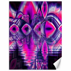 Rose Crystal Palace, Abstract Love Dream  Canvas 12  x 16  (Unframed)