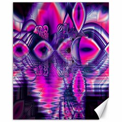 Rose Crystal Palace, Abstract Love Dream  Canvas 16  x 20  (Unframed)