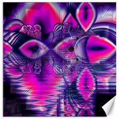 Rose Crystal Palace, Abstract Love Dream  Canvas 20  x 20  (Unframed)