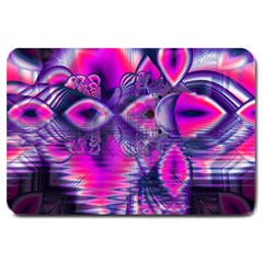 Rose Crystal Palace, Abstract Love Dream  Large Door Mat