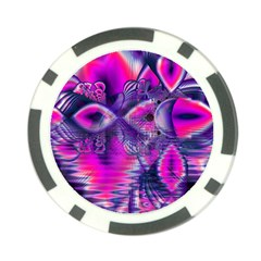Rose Crystal Palace, Abstract Love Dream  Poker Chip