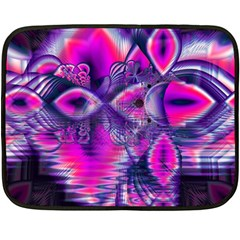 Rose Crystal Palace, Abstract Love Dream  Mini Fleece Blanket (Two Sided)