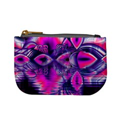 Rose Crystal Palace, Abstract Love Dream  Coin Change Purse