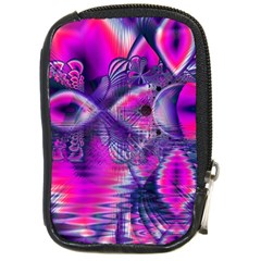 Rose Crystal Palace, Abstract Love Dream  Compact Camera Leather Case