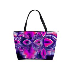 Rose Crystal Palace, Abstract Love Dream  Large Shoulder Bag