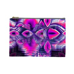 Rose Crystal Palace, Abstract Love Dream  Cosmetic Bag (large)