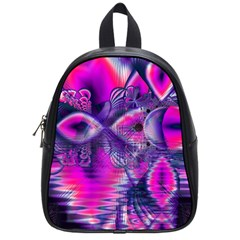 Rose Crystal Palace, Abstract Love Dream  School Bag (Small)