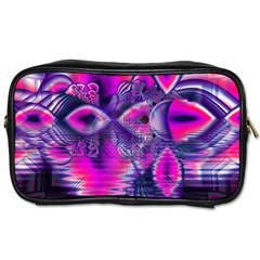 Rose Crystal Palace, Abstract Love Dream  Travel Toiletry Bag (Two Sides)