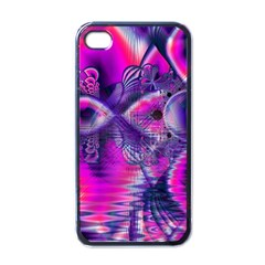 Rose Crystal Palace, Abstract Love Dream  Apple Iphone 4 Case (black)