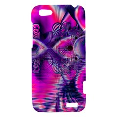 Rose Crystal Palace, Abstract Love Dream  HTC One V Hardshell Case