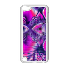 Rose Crystal Palace, Abstract Love Dream  Apple iPod Touch 5 Case (White)