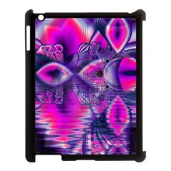 Rose Crystal Palace, Abstract Love Dream  Apple iPad 3/4 Case (Black)
