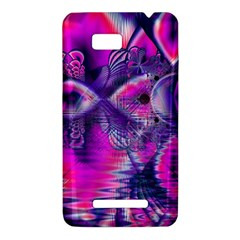 Rose Crystal Palace, Abstract Love Dream  HTC One SU T528W Hardshell Case