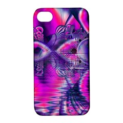 Rose Crystal Palace, Abstract Love Dream  Apple Iphone 4/4s Hardshell Case With Stand