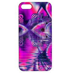 Rose Crystal Palace, Abstract Love Dream  Apple Iphone 5 Hardshell Case With Stand
