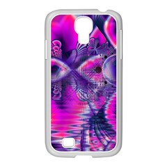 Rose Crystal Palace, Abstract Love Dream  Samsung GALAXY S4 I9500/ I9505 Case (White)