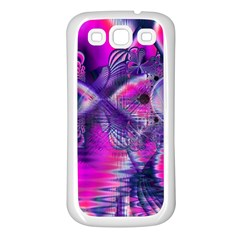 Rose Crystal Palace, Abstract Love Dream  Samsung Galaxy S3 Back Case (White)