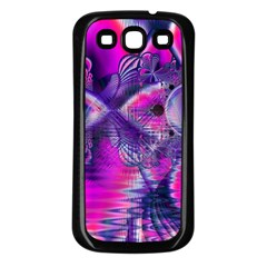 Rose Crystal Palace, Abstract Love Dream  Samsung Galaxy S3 Back Case (black)