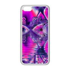Rose Crystal Palace, Abstract Love Dream  Apple Iphone 5c Seamless Case (white)