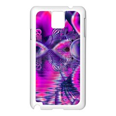 Rose Crystal Palace, Abstract Love Dream  Samsung Galaxy Note 3 N9005 Case (White)