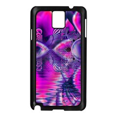 Rose Crystal Palace, Abstract Love Dream  Samsung Galaxy Note 3 N9005 Case (Black)