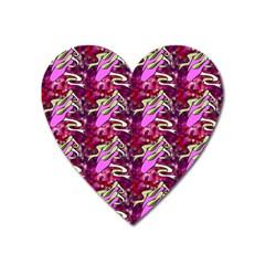 Ballerina Slippers Magnet (heart)